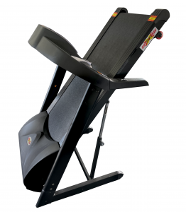 Treadmill Folds Up for Easy Storage